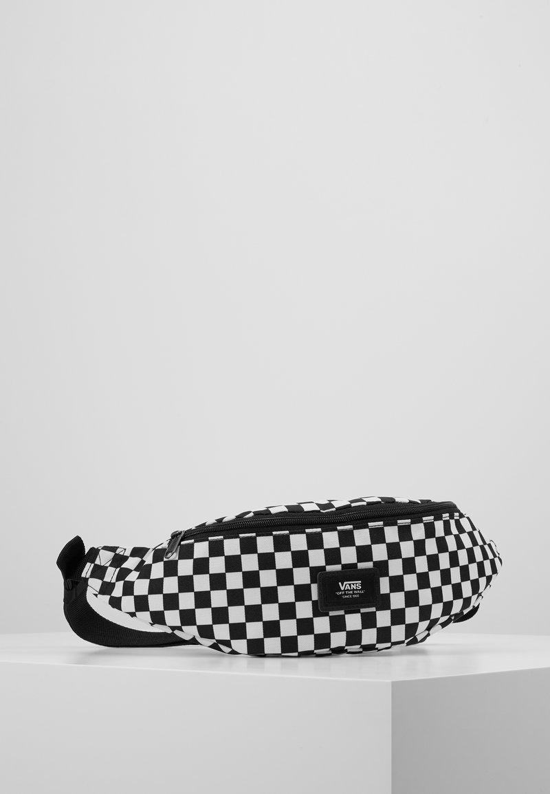 Vans - MINI WARD CROSS BODY - Saszetka nerka - black/white