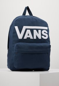 Vans - OLD SKOOL BACKPACK - Mochila - dress blues/white - 0