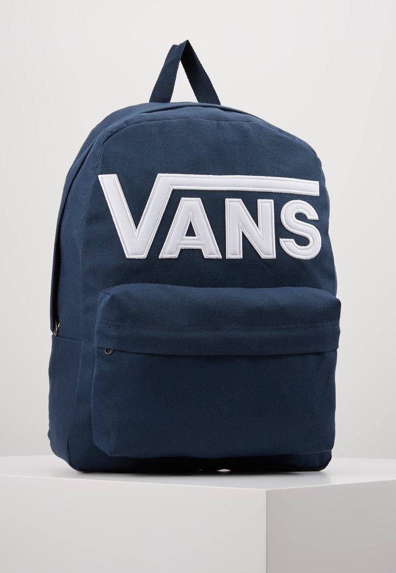 Vans - OLD SKOOL BACKPACK - Mochila - dress blues/white