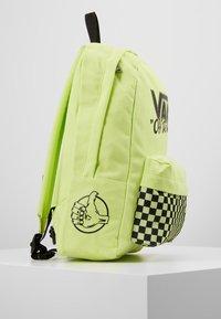 Vans - OLD SKOOL BACKPACK - Plecak - sharp green - 3