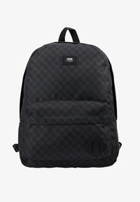Vans - OLD SKOOL BACKPACK - Rygsække - black/charcoal - 7