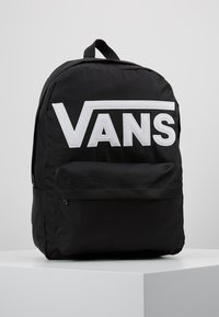 Vans - OLD SKOOL BACKPACK - Rucksack - black/white - 0