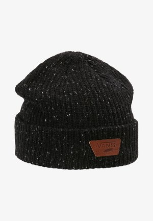 MINI FULL PATCH BEANIE - Lue - black/multi