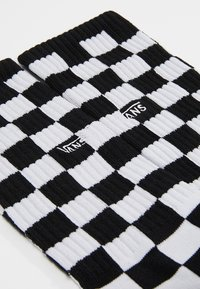 Vans - CHECKERBOARD CREW - Calze - black/white - 2