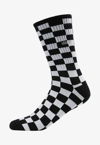 Vans - CHECKERBOARD CREW - Ponožky - black/white
