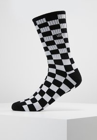 Vans - CHECKERBOARD CREW - Calze - black/white - 0