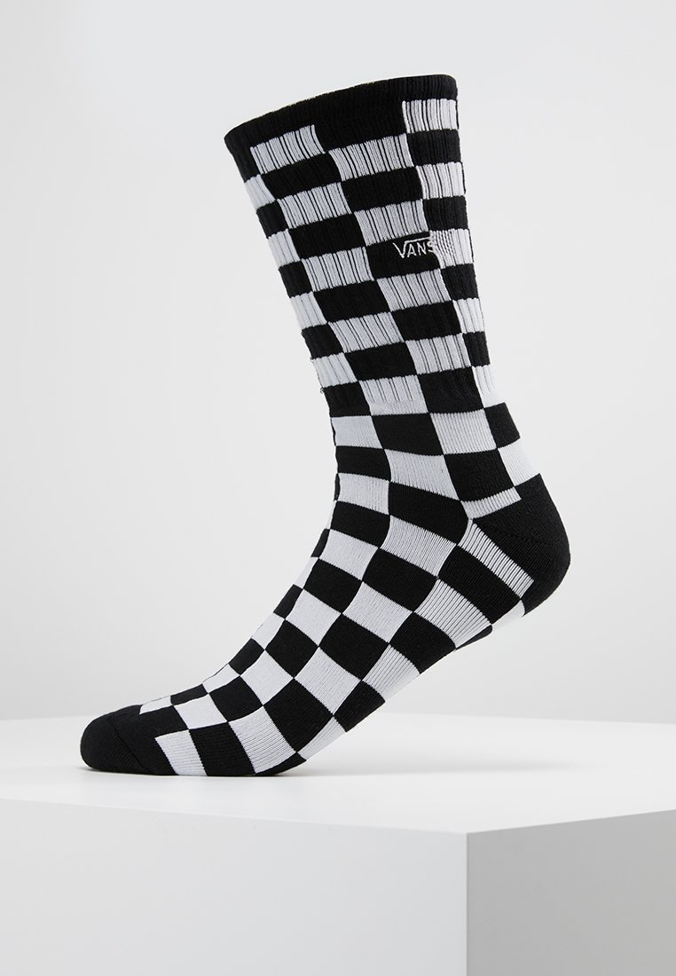 Vans - CHECKERBOARD CREW - Calze - black/white