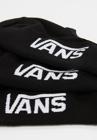 Vans - CLASSIC SUPER NO SHOW 3 PACK - Stopki - black