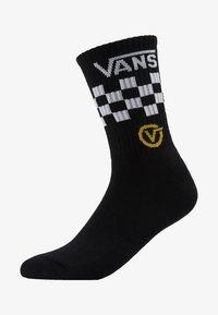 Vans - CIRCLE CREW - Calze - black - 1