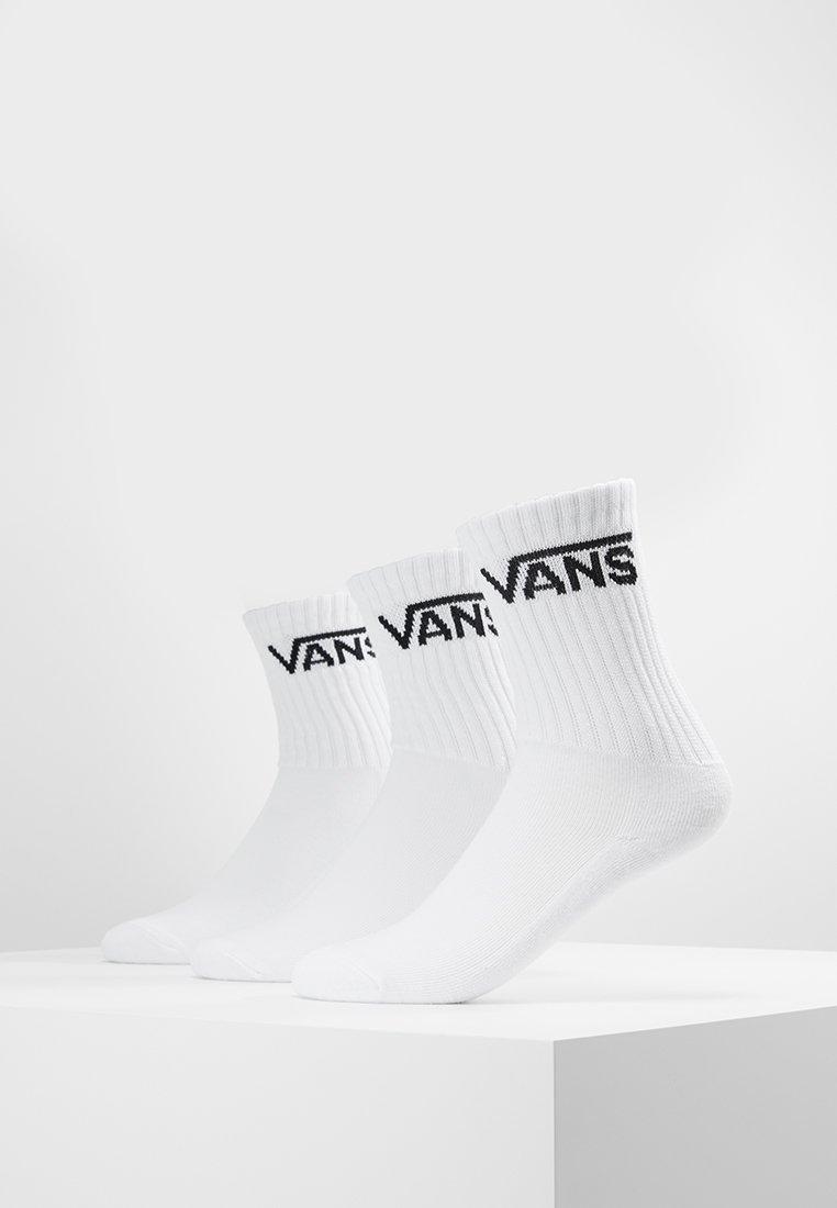 Vans - CLASSIC CREW BOYS 3 PACK - Strømper - white