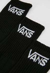 Vans - CLASSIC CREW BOYS 3 PACK - Ponožky - black - 2