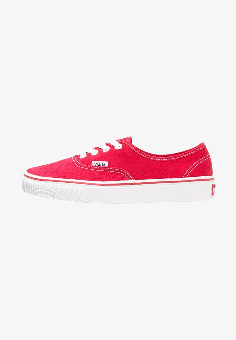 Vans - AUTHENTIC - Skateschuh - red