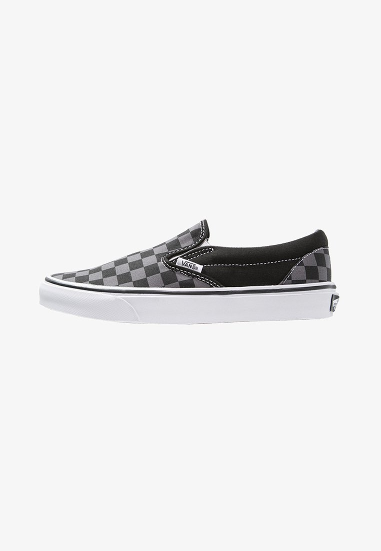 Vans - CLASSIC SLIP-ON - Slipper - black/pewter