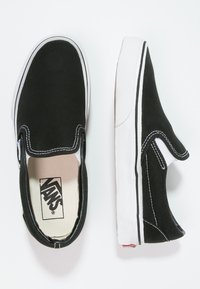 Vans - CLASSIC SLIP-ON - Slip-ons - black - 1