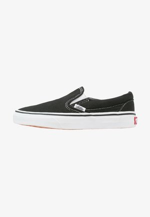 CLASSIC SLIP-ON - Półbuty wsuwane - black