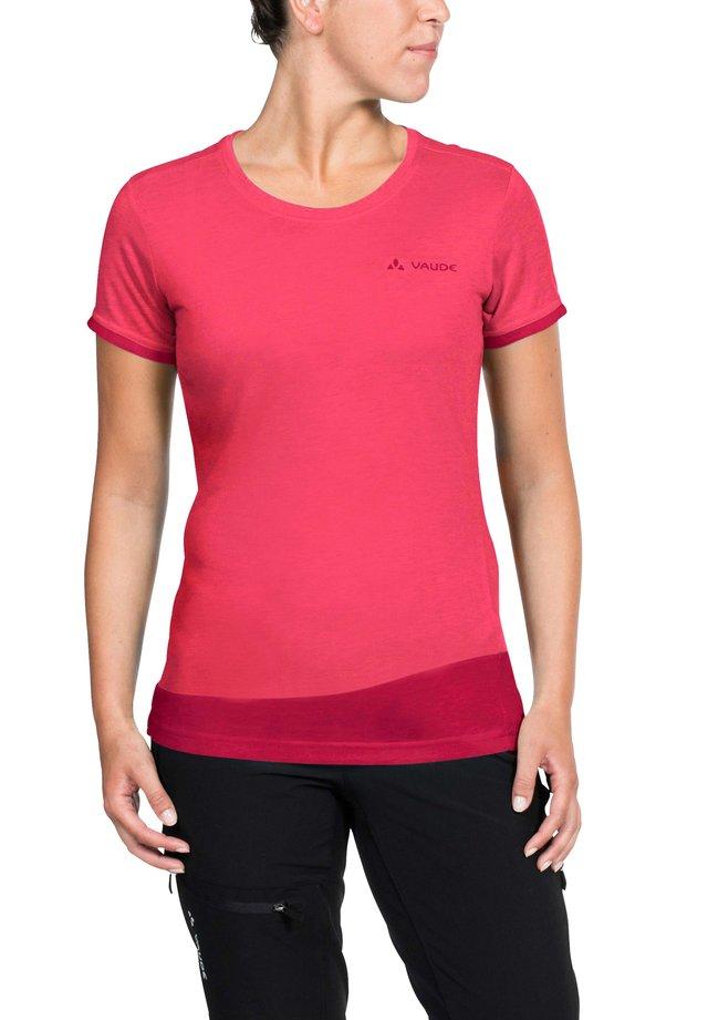 SVEIT - Print T-shirt - bright pink/cranberry
