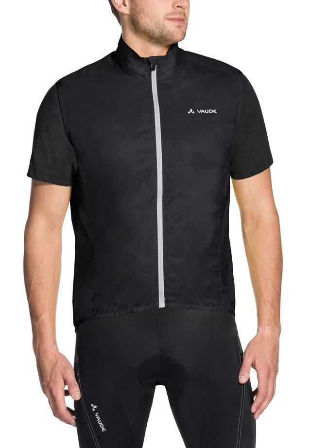 AIR - Waistcoat - black uni