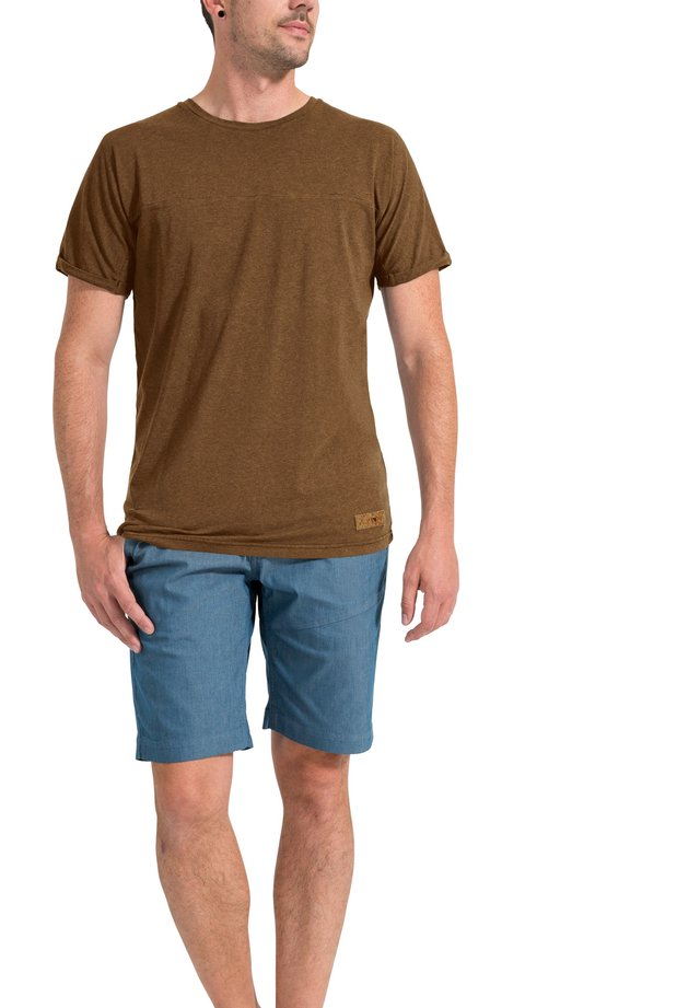REDMONT - Basic T-shirt - brown
