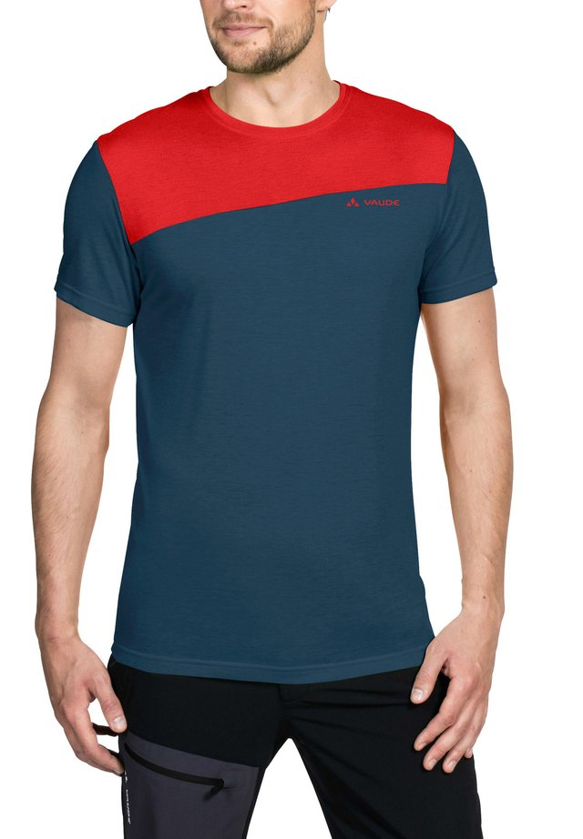 SVEIT  - Print T-shirt - mars red