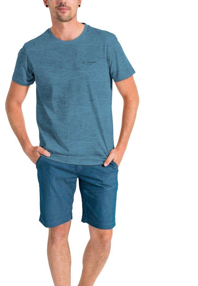 MINEO  AOP - Print T-shirt - blue gray