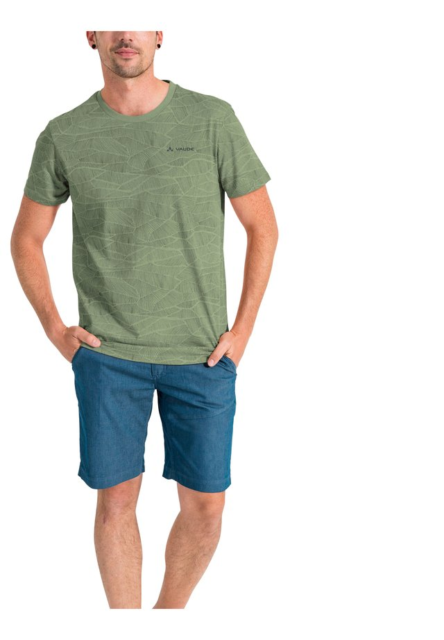 MINEO  AOP - Print T-shirt - fango