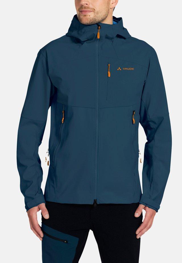ROCCIA - Soft shell jacket - baltic sea