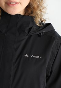 Vaude - WOMEN ESCAPE LIGHT JACKET - Waterproof jacket - black - 3