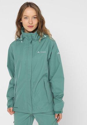 WOMEN ESCAPE LIGHT JACKET - Waterproof jacket - nickel green