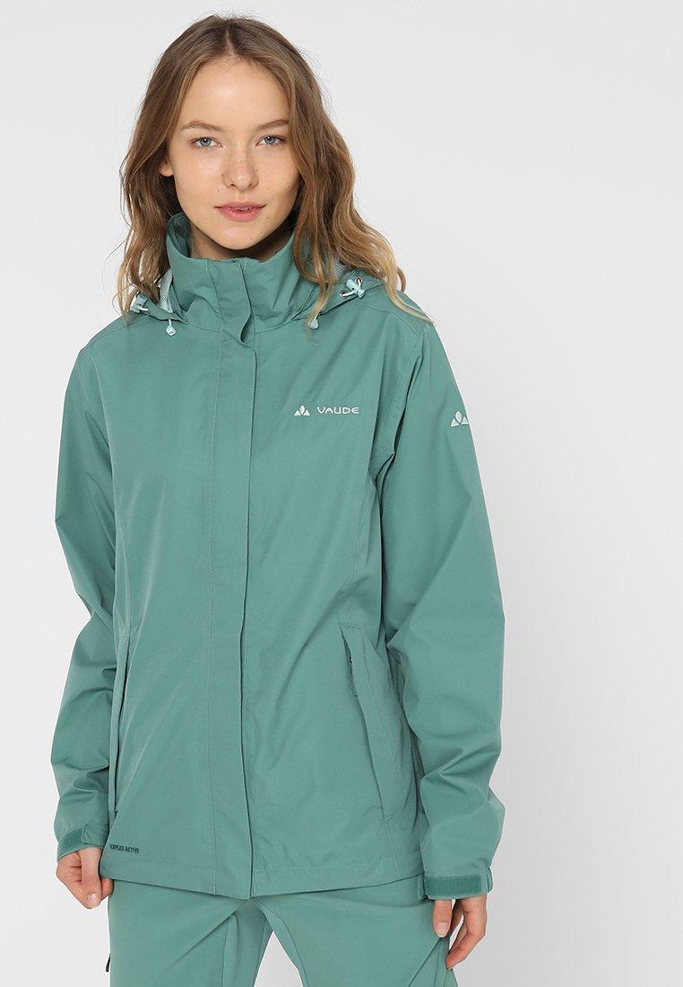 Vaude - WOMEN ESCAPE LIGHT JACKET - Regnjakke / vandafvisende jakker - nickel green