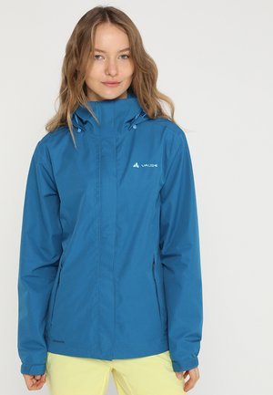 WOMEN ESCAPE LIGHT JACKET - Waterproof jacket - kingfisher
