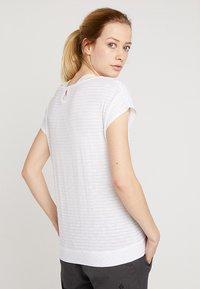Vaude - WOMENS SKOMER  - T-shirt imprimé - white - 2