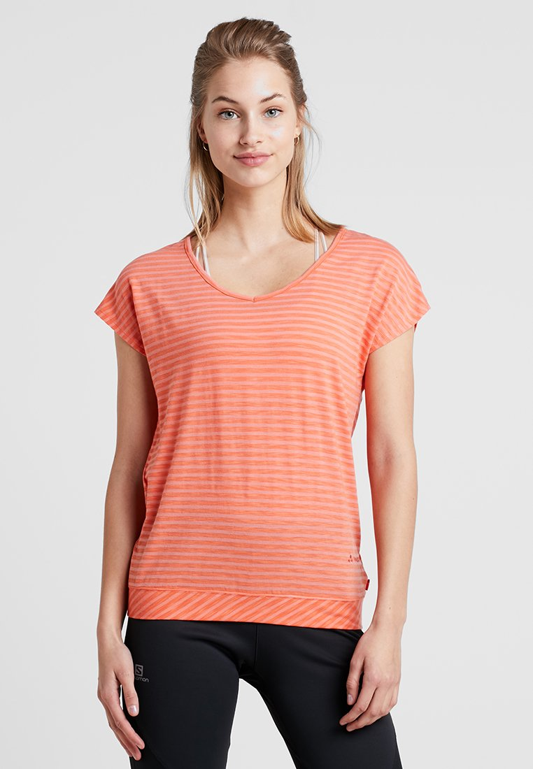Vaude - WOMENS SKOMER  - T-Shirt print - apricot
