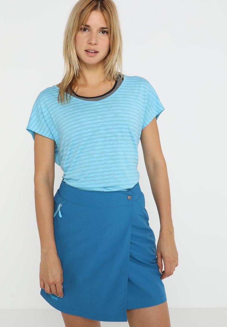 Vaude - WOMENS SKOMER  - Triko spotiskem - crystal blue