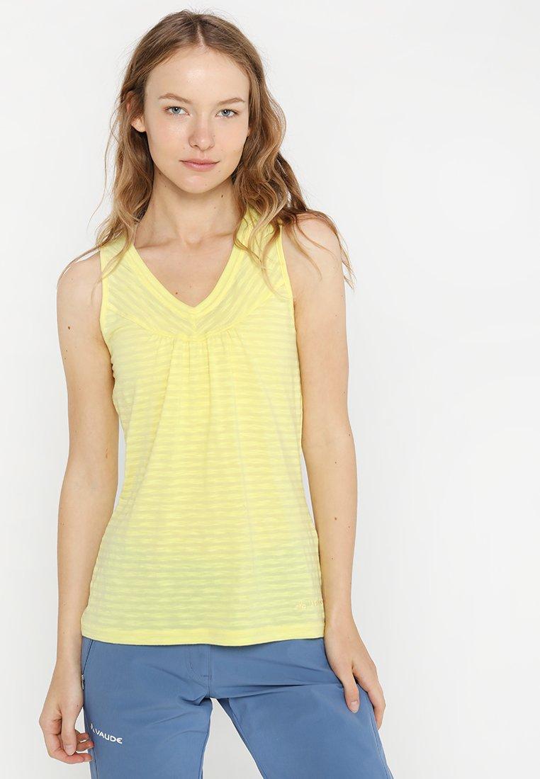Vaude - SKOMER - Sports shirt - mimosa