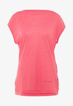 WO TEKOA - T-shirt print - bright pink