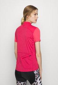 Vaude - TREMALZO - T-Shirt print - crimson red - 2