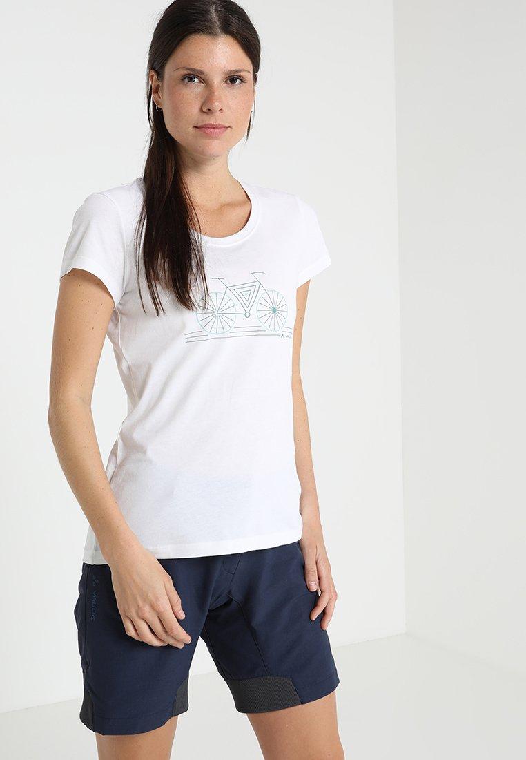 Vaude - CYCLIST  - T-Shirt print - white
