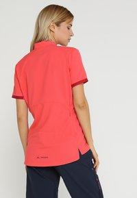 Vaude - EMOAB  - T-Shirt print - crimson red - 2