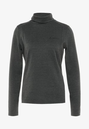 WOMEN'S SKOMER WINTER - Long sleeved top - phantom black