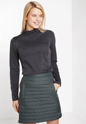 WOMEN'S SKOMER WINTER - Long sleeved top - phantom black