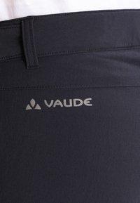 Vaude - WOMEN'S FARLEY STRETCH ZO T-ZIP PANTS 2-IN-1 - Kalhoty - black - 5