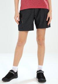 Vaude - TREMALZINI SHORTS - Sports shorts - black - 0