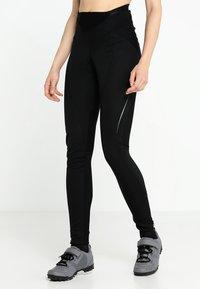Vaude - WOMEN'S ADVANCED WARM PANTS - Joggebukse - black - 0