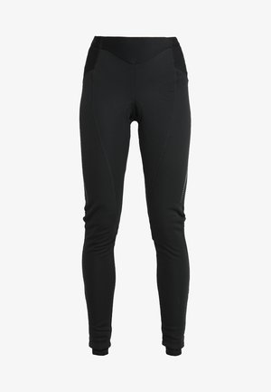 WOMEN'S ADVANCED WARM PANTS - Tracksuit bottoms - black