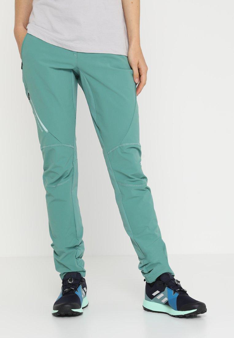 Vaude - SCOPI PANTS - Trousers - nickel green