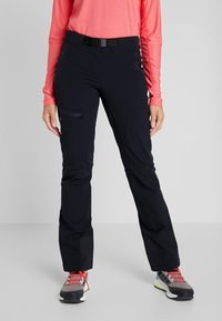 Vaude - BADILE PANTS II - Trousers - black uni - 0