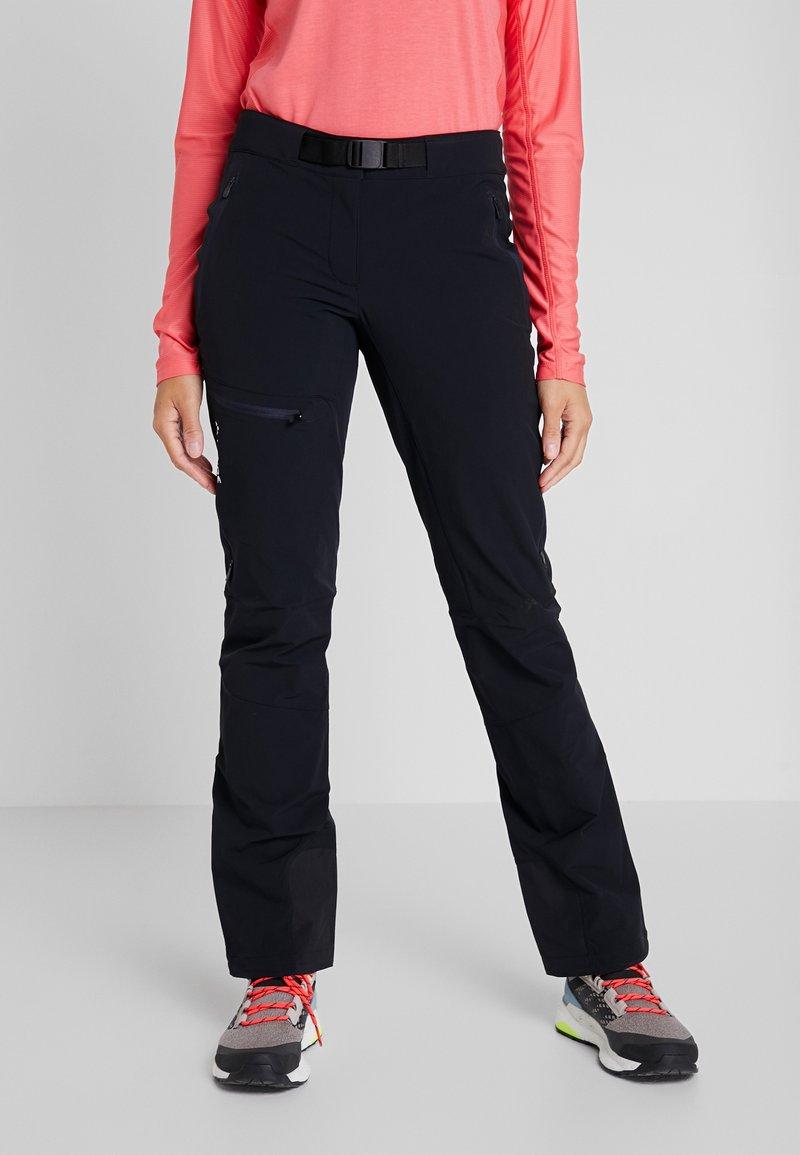 Vaude - BADILE PANTS II - Trousers - black uni