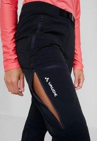 Vaude - BADILE PANTS II - Trousers - black uni - 4