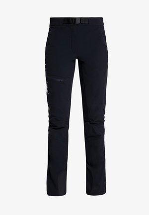 BADILE PANTS II - Trousers - black uni