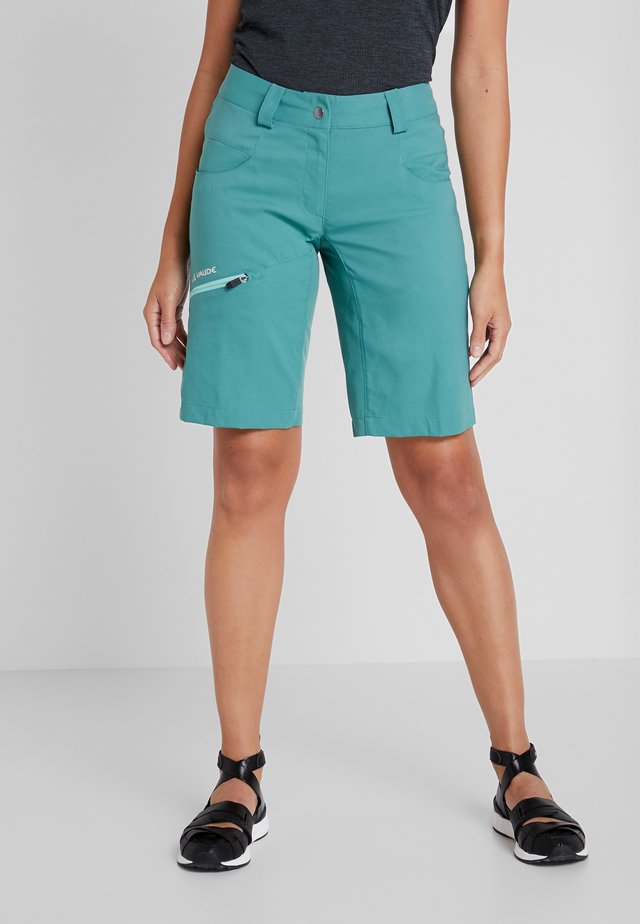 SKARVAN - Outdoor Shorts - nickel green